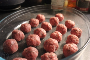 Grapefruit Meatballs